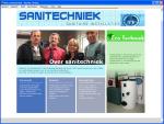 de website van Sanitechniek!